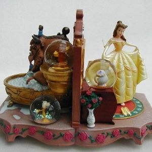 ISO: BEAUTY AND THE BEAST SNOWGLOBES/FIGURINES